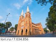 Купить «Нотр Дам де Сайгон в праздник нового года по китайскому календарю. Saigon Notre Dame Basilica on Tet», фото № 7034856, снято 18 февраля 2015 г. (c) Александр Подшивалов / Фотобанк Лори