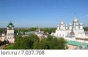 Купить «Кремль в Ростове Великом», видеоролик № 7037708, снято 8 февраля 2015 г. (c) Михаил Коханчиков / Фотобанк Лори