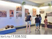 Купить «Музей жертв войны, Сайгон, Вьетнам», фото № 7038532, снято 20 января 2015 г. (c) Овчинникова Ирина / Фотобанк Лори
