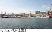Купить «Морской вокзал Владивостока», фото № 7042588, снято 25 марта 2012 г. (c) Владимир Михайлюк / Фотобанк Лори