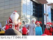 Купить «Детское представление. Баба Яга», фото № 7044416, снято 3 января 2015 г. (c) Козырин Илья / Фотобанк Лори