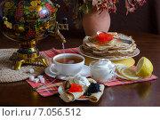 Праздник Масленица. Стоковое фото, фотограф Ольга Данилова / Фотобанк Лори