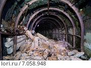 Заброшенная выработка шахты (рудника) Стоковое фото, фотограф Виталий Шубарин / Фотобанк Лори