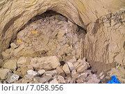 Завал после массового взрыва в шахте руднике. Стоковое фото, фотограф Виталий Шубарин / Фотобанк Лори