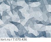 Купить «Абстрактный граненый фон», иллюстрация № 7070436 (c) Сергей Куров / Фотобанк Лори