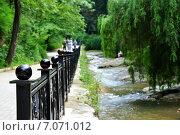 Набережная вдоль реки. Стоковое фото, фотограф Синенко Юрий / Фотобанк Лори