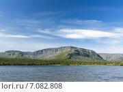Купить «Кольский полуостров. Озеро Сейдозеро и горы массива Ловозёрские тундры.», фото № 7082808, снято 23 января 2020 г. (c) Иван Аборнев / Фотобанк Лори