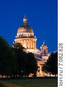 Купить «Исаакиевский собор. Санкт-Петербург», эксклюзивное фото № 7082828, снято 5 июня 2011 г. (c) Александр Щепин / Фотобанк Лори