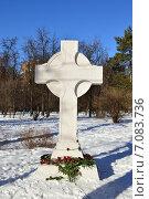"""Купить «Монумент """"В память вождей и воинов..."""". Мемориально-парковый комплекс героев Первой мировой войны. Москва», эксклюзивное фото № 7083736, снято 16 февраля 2015 г. (c) lana1501 / Фотобанк Лори"""