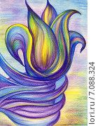 Самопознание. Стоковая иллюстрация, иллюстратор Лия Ерхонина / Фотобанк Лори