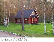 Деревянный дом. Стоковое фото, фотограф Лукаш Дмитрий / Фотобанк Лори