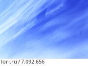 Купить «Голубое весеннее небо», фото № 7092656, снято 10 апреля 2009 г. (c) Роман Сигаев / Фотобанк Лори