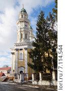 Купить «Греко-католический Крестовоздвиженский собор в Ужгороде, Украина», фото № 7114544, снято 5 января 2015 г. (c) Гордина Алёна / Фотобанк Лори