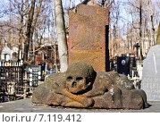 Купить «Москва. Введенское кладбище», фото № 7119412, снято 13 марта 2014 г. (c) Sashenkov89 / Фотобанк Лори