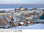 Купить «Виды Нижнего Новгорода зимой», фото № 7120496, снято 8 марта 2015 г. (c) Овчинникова Ирина / Фотобанк Лори