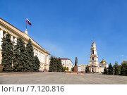 Купить «Соборная площадь в Липецке», эксклюзивное фото № 7120816, снято 18 сентября 2014 г. (c) Сергей Лаврентьев / Фотобанк Лори