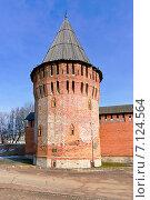 Купить «Город Смоленск. Громовая башня», фото № 7124564, снято 26 февраля 2015 г. (c) Зобков Георгий / Фотобанк Лори