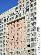 Купить «Двенадцати–двадцатичетырёхэтажный пятиподъездный монолитный жилой дом. Проезд Берёзовой Рощи, 10. Москва», эксклюзивное фото № 7128308, снято 14 марта 2015 г. (c) lana1501 / Фотобанк Лори