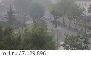 Купить «Дождливый Кемер», видеоролик № 7129896, снято 5 июня 2014 г. (c) Smolin Ruslan / Фотобанк Лори