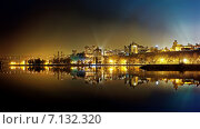 Ночной Воронеж (2014 год). Стоковое фото, фотограф Александр Андреевич Сячин / Фотобанк Лори
