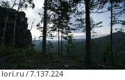 Таймлапс, гора Малый Ямантау. Стоковое видео, видеограф R.I.Production / Фотобанк Лори