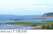 Таймлепс. Рассвет на озере Аслыкуль. Стоковое видео, видеограф R.I.Production / Фотобанк Лори