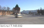 Купить «Нижний Новгород. Городской пейзаж», видеоролик № 7143032, снято 19 марта 2015 г. (c) Parmenov Pavel / Фотобанк Лори