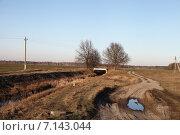 Купить «Полесский пейзаж», эксклюзивное фото № 7143044, снято 17 марта 2015 г. (c) Валерий Акулич / Фотобанк Лори