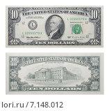 Купить «Десять долларов США», фото № 7148012, снято 25 июня 2018 г. (c) Некрасов Андрей / Фотобанк Лори