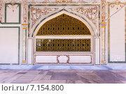 """Купить «Красивые ворота здания на """"Topkapi Palace"""", Стамбул», фото № 7154800, снято 22 февраля 2015 г. (c) Андрей Родионов / Фотобанк Лори"""