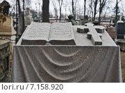 Купить «Донское кладбище», фото № 7158920, снято 21 марта 2014 г. (c) Sashenkov89 / Фотобанк Лори