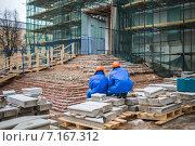 Реставрация храма (2013 год). Стоковое фото, фотограф needadventures / Фотобанк Лори