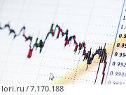Купить «Графики фондового рынка», фото № 7170188, снято 22 января 2015 г. (c) Валерия Потапова / Фотобанк Лори
