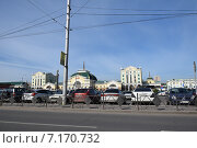Железнодорожный вокзал в Красноярске (2014 год). Редакционное фото, фотограф Николай Новиков / Фотобанк Лори