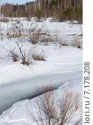 Река Узола весной. Стоковое фото, фотограф Сафонова Елена / Фотобанк Лори