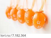 Пасхальные яйца. Стоковое фото, фотограф Елена Захарченко / Фотобанк Лори