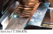 Купить «Станок лазерной резки», видеоролик № 7184476, снято 28 марта 2015 г. (c) Игорь Кузнецов / Фотобанк Лори