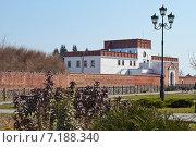 Фрагмент крепостной стены с воротами в Дубно. Стоковое фото, фотограф Николай Полищук / Фотобанк Лори