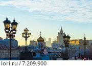 Купить «Вид в центре Москвы», фото № 7209900, снято 23 февраля 2013 г. (c) Виктория Михайловна Гаман / Фотобанк Лори