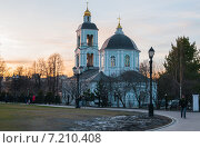 Церковь Божией Матери в парке Царицыно. Стоковое фото, фотограф Юрий Баулин / Фотобанк Лори