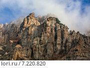 Облака над горами. Крым. Стоковое фото, фотограф Фёдор Ветров / Фотобанк Лори