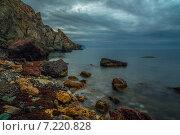 Утренние наброски морского побережья. Стоковое фото, фотограф Фёдор Ветров / Фотобанк Лори