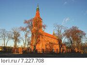 Купить «Poland, Leszno, Parish Church of St.John Baptist, build in 1849-1898», фото № 7227708, снято 24 апреля 2019 г. (c) BE&W Photo / Фотобанк Лори