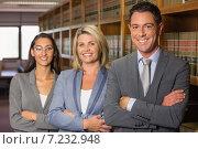 Купить «Lawyers in the law library», фото № 7232948, снято 7 августа 2014 г. (c) Wavebreak Media / Фотобанк Лори