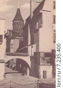 Купить «Кёнигсберг. Кнайпхоф. Вид на Кафедральный собор через Прегельскую арку», фото № 7235400, снято 22 июля 2019 г. (c) Svet / Фотобанк Лори