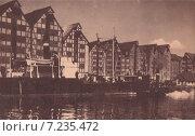 Купить «Кёнигсберг. Хундегатт. Набережная реки Прегель», фото № 7235472, снято 24 июля 2019 г. (c) Svet / Фотобанк Лори