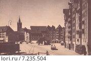 Купить «Кёнигсберг. Вид на замок со стороны района Лаштадиен», фото № 7235504, снято 22 июля 2019 г. (c) Svet / Фотобанк Лори