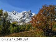 Ледник Алибек.Карачаево-Черкесия. Стоковое фото, фотограф олег данильченко / Фотобанк Лори