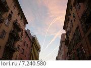 Небо Ниццы (2012 год). Стоковое фото, фотограф Евгений Рыжков / Фотобанк Лори