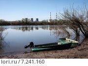 Поселок на Оке. Стоковое фото, фотограф Игорь Леонов / Фотобанк Лори